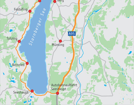 Ferrarifahrt Rund Um Den Starnberger See München